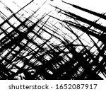 texture ink rough lines texture.... | Shutterstock .eps vector #1652087917