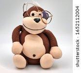 Sitting Toy Monkey In...