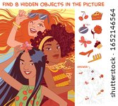 ethnic diversity group of women.... | Shutterstock .eps vector #1652146564