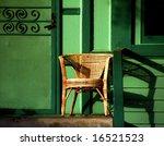 chair on porch   Shutterstock . vector #16521523