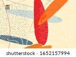 retro hipster art print or...   Shutterstock .eps vector #1652157994