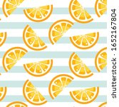 striped pattern with juicy... | Shutterstock .eps vector #1652167804