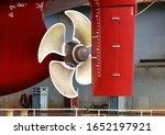 Propeller Closeup Of Container...