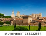 Town Walls Of Avignon And...