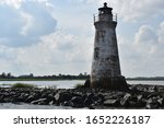 Up Close Lighthouse In The...