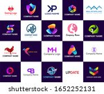 mega collection of geometrical... | Shutterstock .eps vector #1652252131