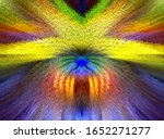 3d Cubes Extruded Abstract...