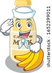 cashew milk cartoon concept... | Shutterstock .eps vector #1652399011
