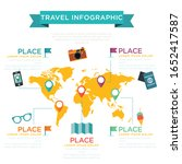 travel and tourism.... | Shutterstock .eps vector #1652417587