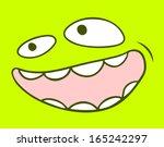 funny mask | Shutterstock .eps vector #165242297