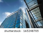 business building in canary... | Shutterstock . vector #165248705