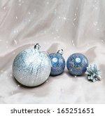 new year's balls | Shutterstock . vector #165251651