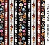 stylish vertical boho stripe of ... | Shutterstock .eps vector #1652517517