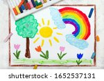 Photo Of Colorful Drawing ...