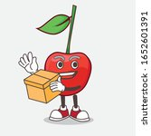 A Picture Of Bing Cherry Mascot ...