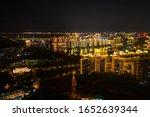 Night City Aerial View Of Sanya ...