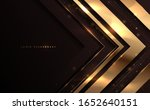 Abstract Black And Gold Luxury...