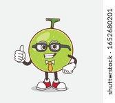 cantaloupe melon cartoon... | Shutterstock .eps vector #1652680201