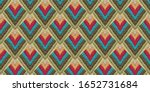 embroidered seamless ethnic... | Shutterstock . vector #1652731684