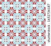 candy cane mint christmas... | Shutterstock .eps vector #1652736187