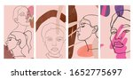 set of templates with... | Shutterstock .eps vector #1652775697