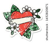 distressed sticker tattoo in... | Shutterstock . vector #1652820871