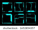 square frame abstract...   Shutterstock .eps vector #1652854357