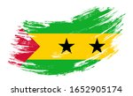 sao tome and principe flag... | Shutterstock .eps vector #1652905174