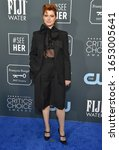 Small photo of LOS ANGELES - JAN 12: Jessie Buckley arrives for the 25th Annual Critics' Choice Awards on January 12, 2020 in Santa Monica, CA