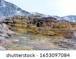Multicolored Limestone Deposits ...