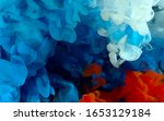 flag of russia made of colored... | Shutterstock . vector #1653129184