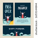 passover banner and greeting...   Shutterstock .eps vector #1653144844