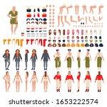 woman cartoon character...   Shutterstock .eps vector #1653222574