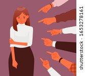 public censure or blame. victim ... | Shutterstock .eps vector #1653278161