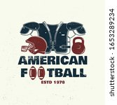 american football or rugby club ... | Shutterstock .eps vector #1653289234