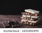 Dark And White Chocolate With...