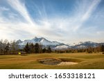 Golf Course And Tatry Mountains ...