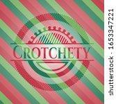 crotchety christmas style... | Shutterstock .eps vector #1653347221