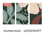 set of template in a botanical...   Shutterstock .eps vector #1653356497