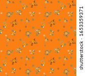 small flowers. seamless pattern ... | Shutterstock .eps vector #1653359371