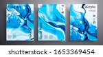 abstract vector placard  set of ... | Shutterstock .eps vector #1653369454