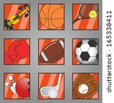 icon sports | Shutterstock .eps vector #165338411