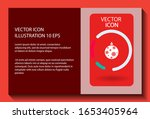 vector icon toy christmas tree... | Shutterstock .eps vector #1653405964