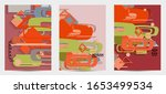 abstract retro colored mid... | Shutterstock .eps vector #1653499534