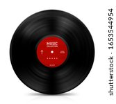 Gramophone Vinyl Record With...