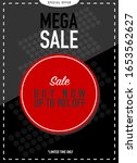 special offer and mega sale on...   Shutterstock .eps vector #1653562627