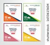 banner for social media...   Shutterstock .eps vector #1653615604