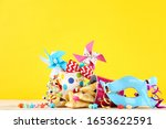 purim holiday composition.... | Shutterstock . vector #1653622591