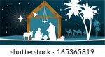 star of bethlehem. all elements ... | Shutterstock .eps vector #165365819