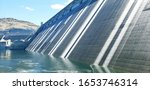 Stunning Grand Coulee Dam With...